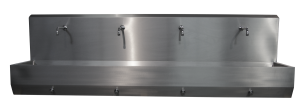 Knee-high wash-basin